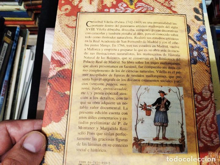 Libros de segunda mano: TRAJES DE LA ISLA DE MALLORCA. CRISTÓBAL VILELLA. JOSÉ J. DE OLAÑETA,EDITOR. 2000. UNA JOYA!!!!! - Foto 20 - 216786638