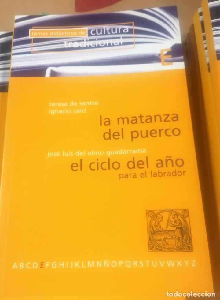 Libros de segunda mano: Temas didácticos de cultura tradicional, Valladolid 1977- lote 12 primeros libros - Foto 6 - 216846966