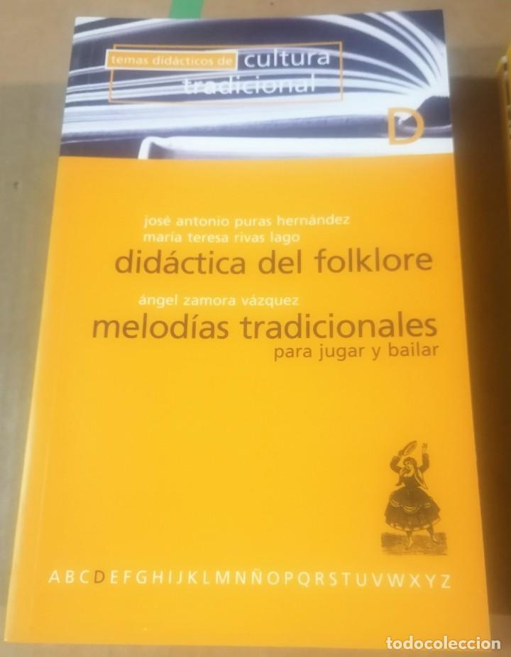 Libros de segunda mano: Temas didácticos de cultura tradicional, Valladolid 1977- lote 12 primeros libros - Foto 7 - 216846966