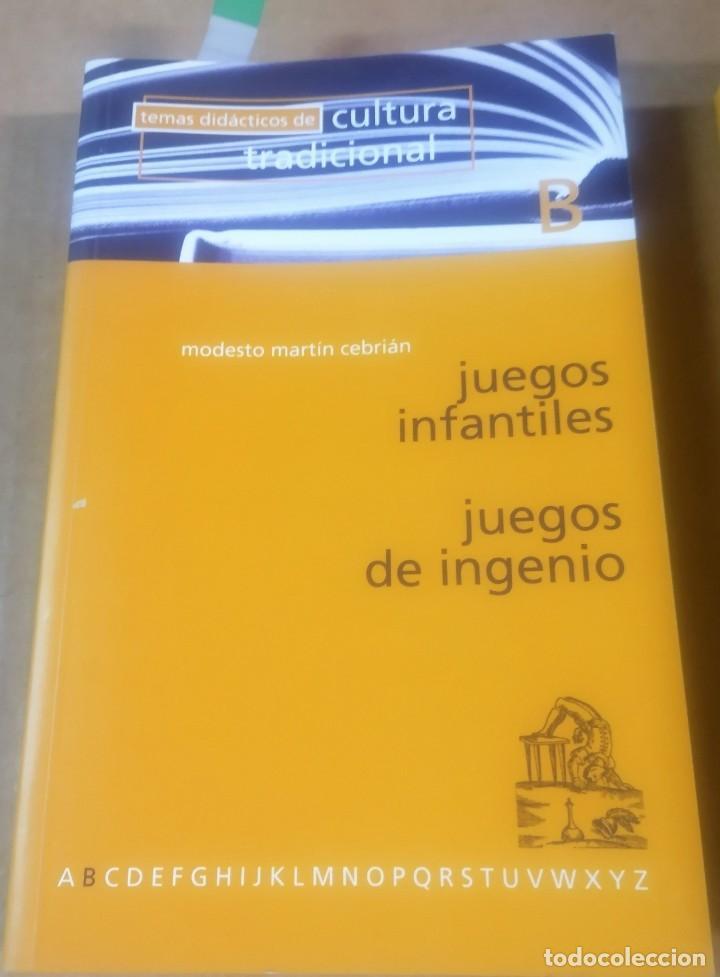 Libros de segunda mano: Temas didácticos de cultura tradicional, Valladolid 1977- lote 12 primeros libros - Foto 9 - 216846966