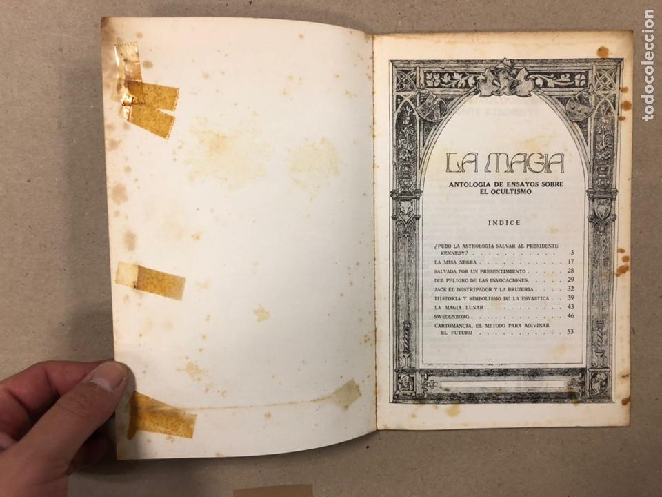 Libros de segunda mano: LA MAGIA DEL OCULTISMO, ANTOLOGÍA DEL OCULTISMO. 5 PRIMEROS NÚMEROS. EDICIONES DRONTE 1973. - Foto 3 - 216890357