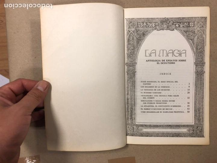 Libros de segunda mano: LA MAGIA DEL OCULTISMO, ANTOLOGÍA DEL OCULTISMO. 5 PRIMEROS NÚMEROS. EDICIONES DRONTE 1973. - Foto 14 - 216890357