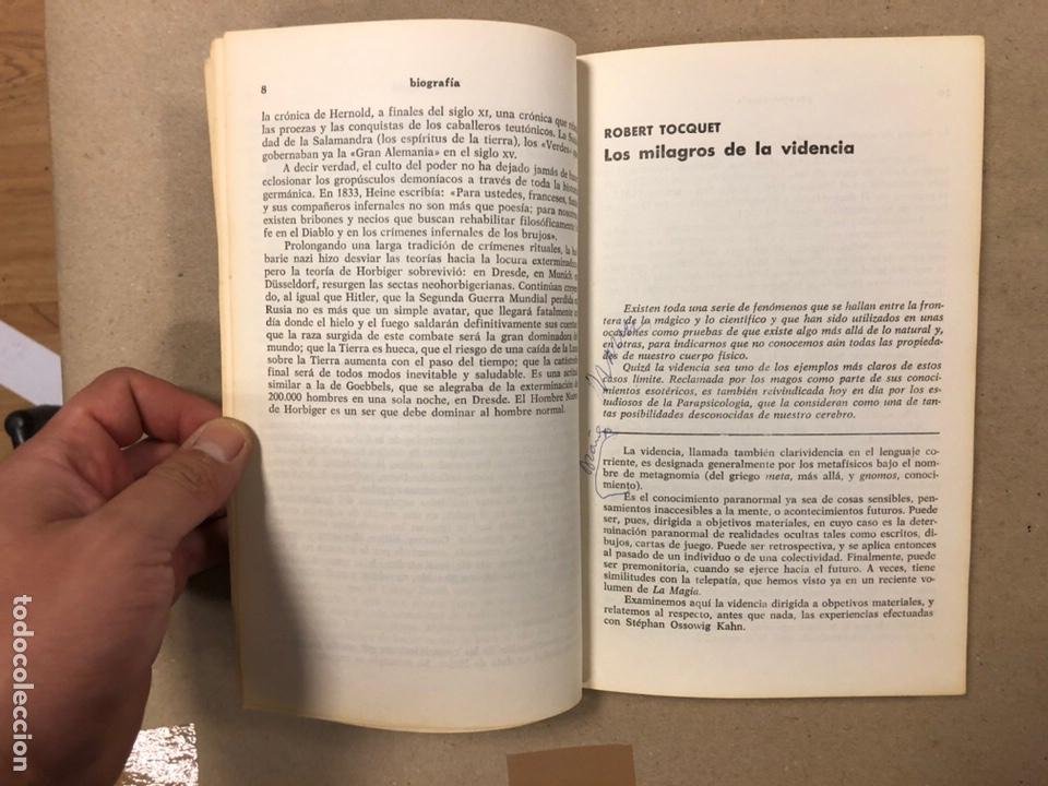 Libros de segunda mano: LA MAGIA DEL OCULTISMO, ANTOLOGÍA DEL OCULTISMO. 5 PRIMEROS NÚMEROS. EDICIONES DRONTE 1973. - Foto 15 - 216890357