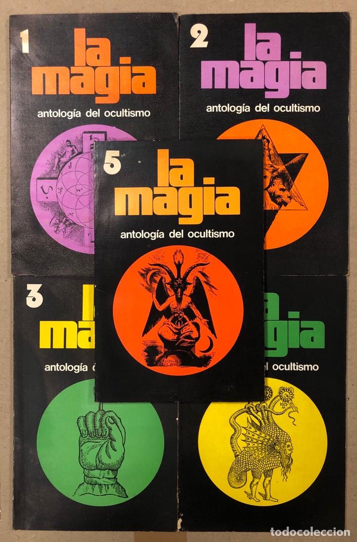LA MAGIA DEL OCULTISMO, ANTOLOGÍA DEL OCULTISMO. 5 PRIMEROS NÚMEROS. EDICIONES DRONTE 1973. (Libros de Segunda Mano - Parapsicología y Esoterismo - Otros)