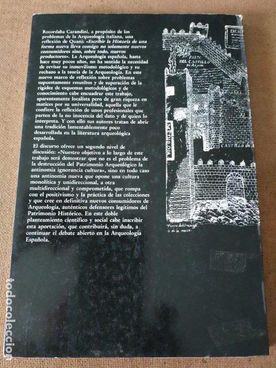 Libros de segunda mano: ARQUEOLOGIA EN JAEN. REFLEXIONES DESDE UN PROYECTO ARQUEOLOGICO NO INOCENTE. VV.AA. DIPUTACION DE - Foto 2 - 217001603
