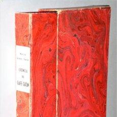 Libros de segunda mano: CRÓNICA DEL CAFÉ GIJON. Lote 217019878