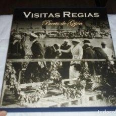 Libros de segunda mano: VISITAS REGIAS. PUERTO DE GIJON. LUNWERG. LA FAMILIA REAL VISITA GIJON ENTRE 1852 Y 1928.EDITA PUERT. Lote 217062323