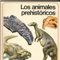 Libros de segunda mano: LOS ANIMALES PREHISTORICOS - SERIE TEMATICA ILUSTRADA - Nº2. Lote 217085501