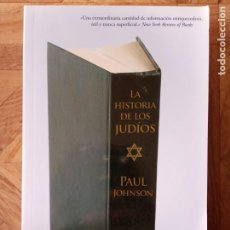 Libros de segunda mano: LA HISTORIA DE LOS JUDÍOS - PAUL JOHNSON - ED. ZETA BOLSILLO. Lote 217116453