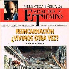 Libros de segunda mano: REENCARNACION ¿VIVIMOS OTRA VEZ? POR JUAN DE ATIENZA, VER INDICE. Lote 217118071