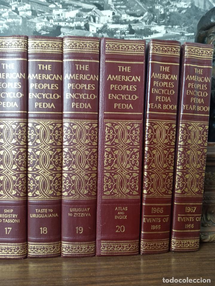 Libros de segunda mano: The american peoples encyclopedia. A Modern reference work. 20 volúmenes. New York. 1965. - Foto 5 - 217124823