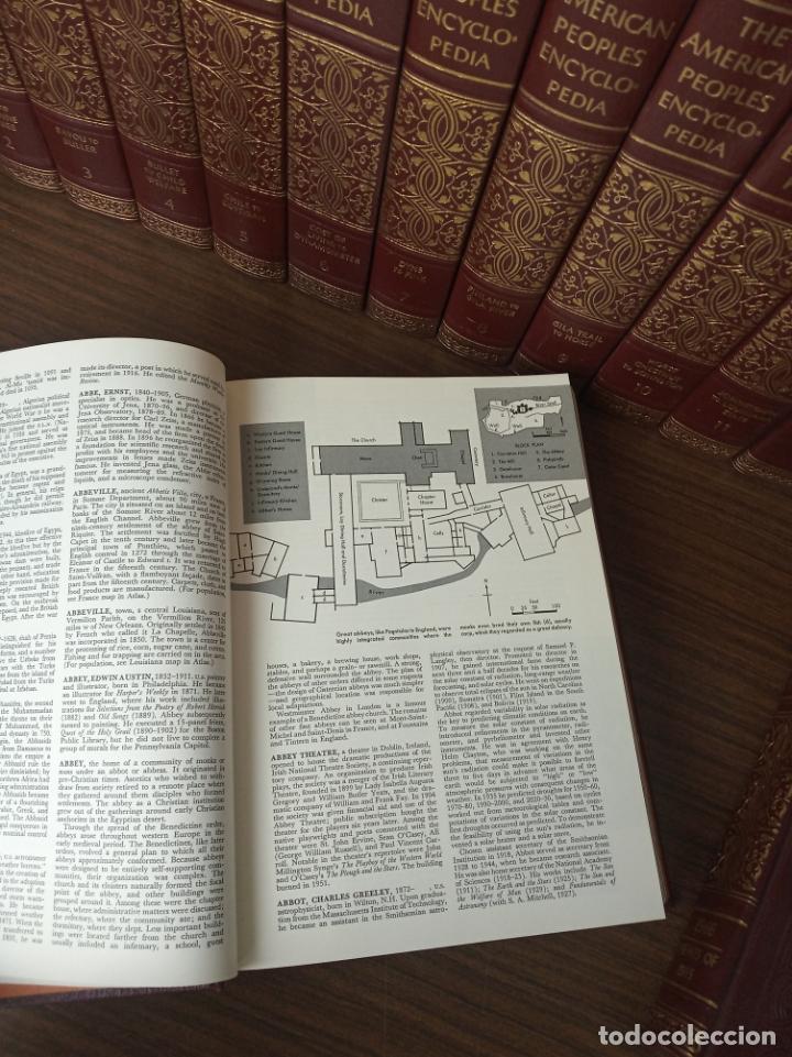 Libros de segunda mano: The american peoples encyclopedia. A Modern reference work. 20 volúmenes. New York. 1965. - Foto 8 - 217124823