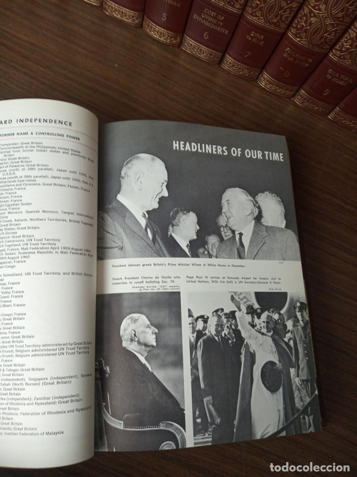 Libros de segunda mano: The american peoples encyclopedia. A Modern reference work. 20 volúmenes. New York. 1965. - Foto 18 - 217124823