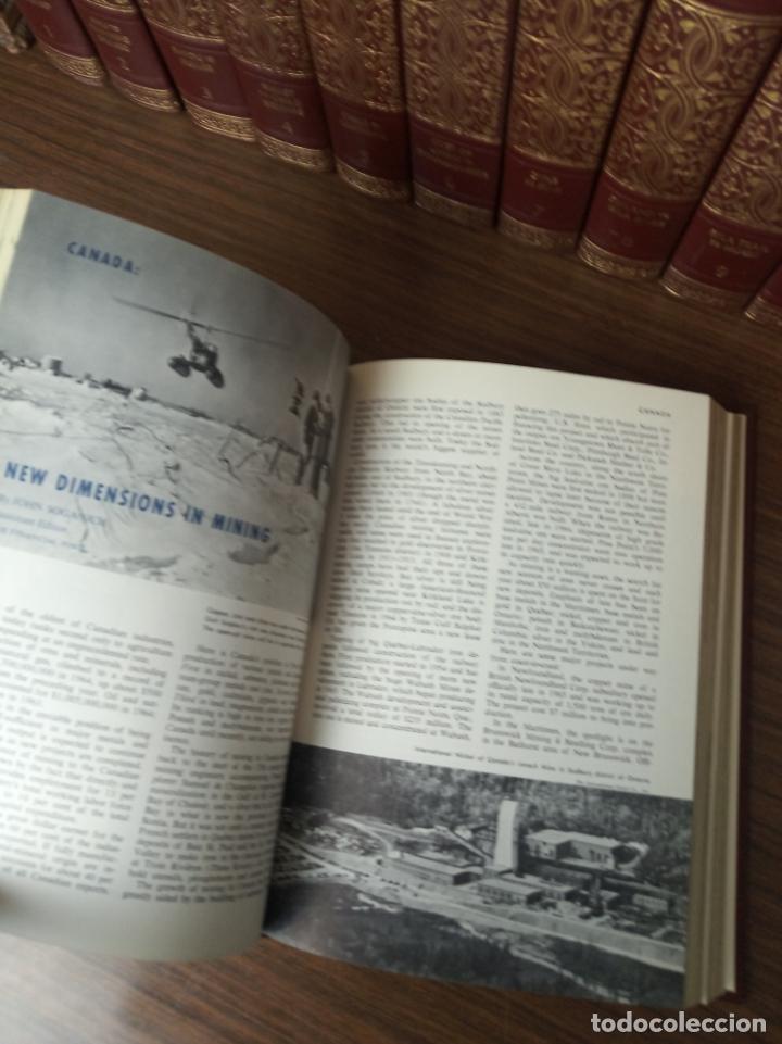 Libros de segunda mano: The american peoples encyclopedia. A Modern reference work. 20 volúmenes. New York. 1965. - Foto 19 - 217124823