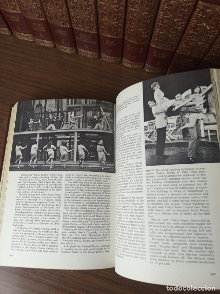 Libros de segunda mano: The american peoples encyclopedia. A Modern reference work. 20 volúmenes. New York. 1965. - Foto 22 - 217124823