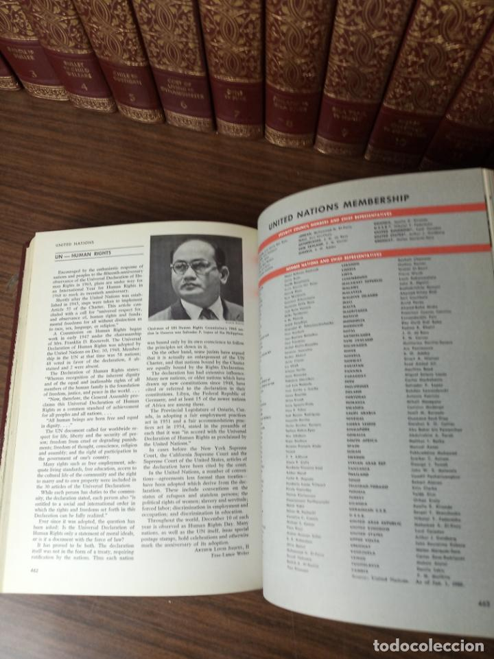 Libros de segunda mano: The american peoples encyclopedia. A Modern reference work. 20 volúmenes. New York. 1965. - Foto 23 - 217124823