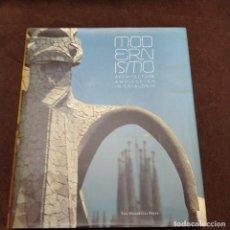 Libros de segunda mano: MODERNISMO: ARCHITECTURE AND DESIGN IN CATALONIA 2003 EN INGLÉS . LIBRO ARTE. ART NOUVEAU .. Lote 217150677