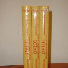 Libros de segunda mano: LES METAMORFOSIS - OVIDI - BERNAT METGE, ESCRIPTORS LLATINS, NOUS, PRECINTATS. Lote 217208028