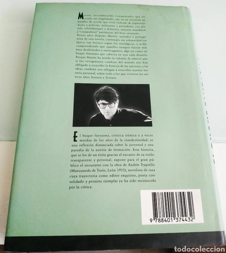 Libros de segunda mano: El buque fantasma Andrés trapiello primera edición - Foto 2 - 217246558