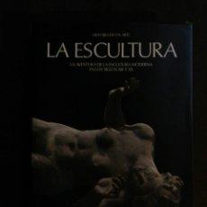 Libros de segunda mano: HISTORIA DE UN ARTE LA AVENTURA DE LA ESCULTURA MODERNA SIGLOS XIX Y XX CARROGGIO SKIRA. Lote 217275040