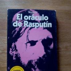 Libros de segunda mano: EL ORÁCULO DE RASPUTÍN (MARTÍNEZ ROCA, 1981). CONTIENE LOS DISCOS MÁGICOS DE ADIVINACIÓN / MANTEIA. Lote 217511457