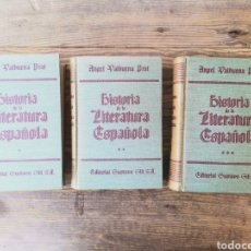 Libros de segunda mano: HISTORIA DE LA LITERATURA ESPAÑOLA - ANGEL VALBUENA PRAT. Lote 217534301