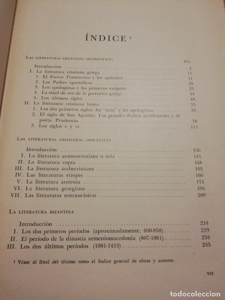 Libros de segunda mano: HISTORIA UNIVERSAL LITERATURA. TOMO III (PRAMPOLINI) LITERATURAS CRISTIANAS OCCIDENTALES, ... - Foto 4 - 217616867