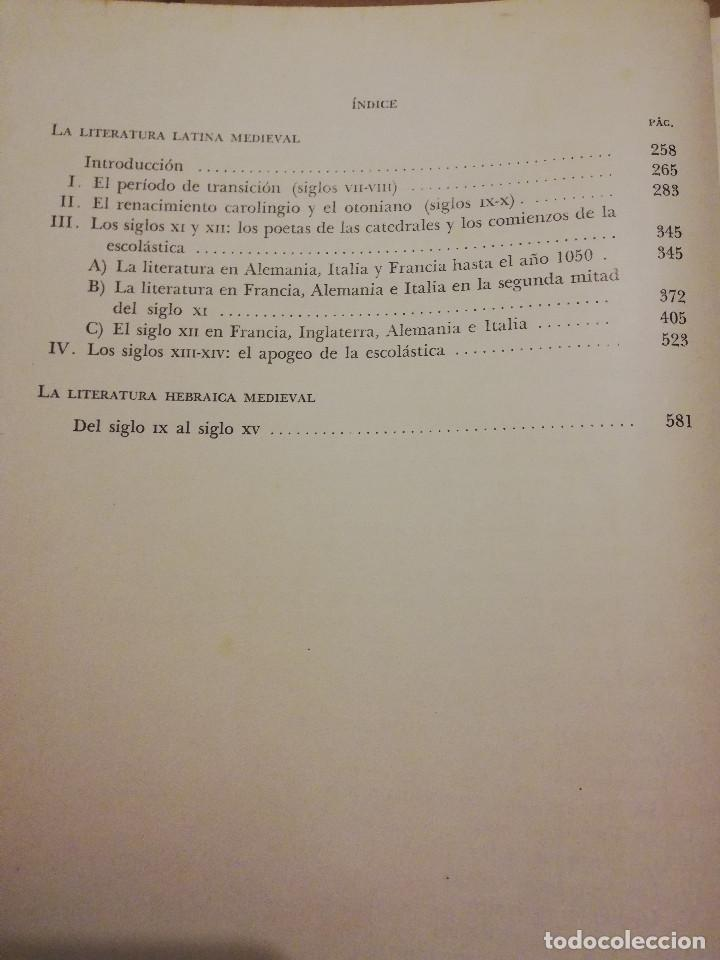 Libros de segunda mano: HISTORIA UNIVERSAL LITERATURA. TOMO III (PRAMPOLINI) LITERATURAS CRISTIANAS OCCIDENTALES, ... - Foto 5 - 217616867