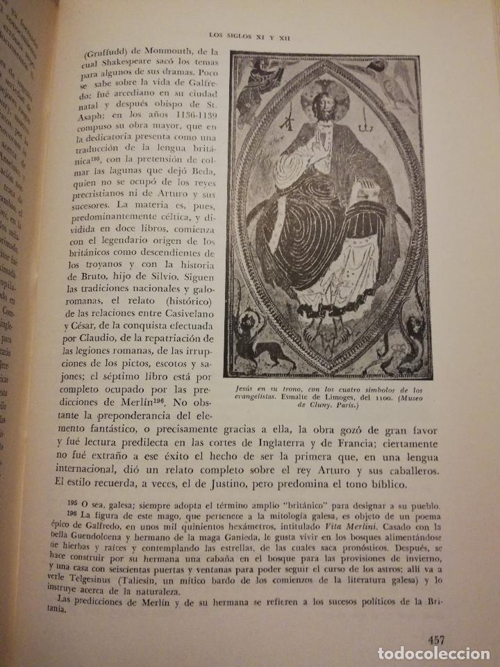 Libros de segunda mano: HISTORIA UNIVERSAL LITERATURA. TOMO III (PRAMPOLINI) LITERATURAS CRISTIANAS OCCIDENTALES, ... - Foto 6 - 217616867