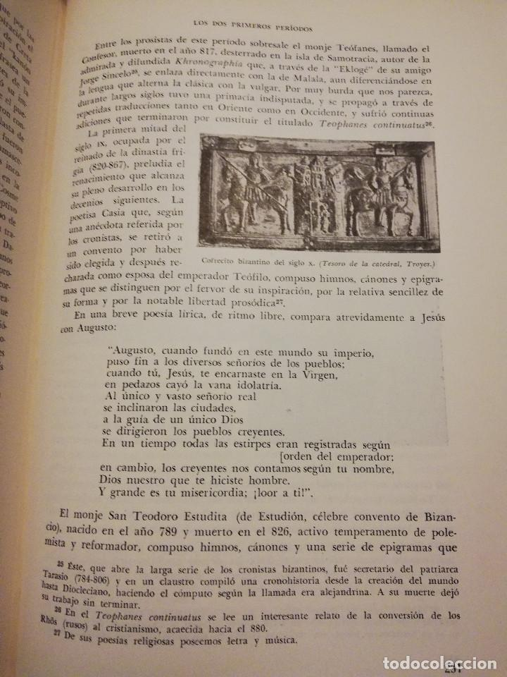 Libros de segunda mano: HISTORIA UNIVERSAL LITERATURA. TOMO III (PRAMPOLINI) LITERATURAS CRISTIANAS OCCIDENTALES, ... - Foto 9 - 217616867