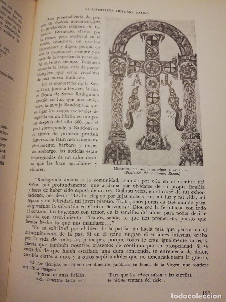 Libros de segunda mano: HISTORIA UNIVERSAL LITERATURA. TOMO III (PRAMPOLINI) LITERATURAS CRISTIANAS OCCIDENTALES, ... - Foto 10 - 217616867
