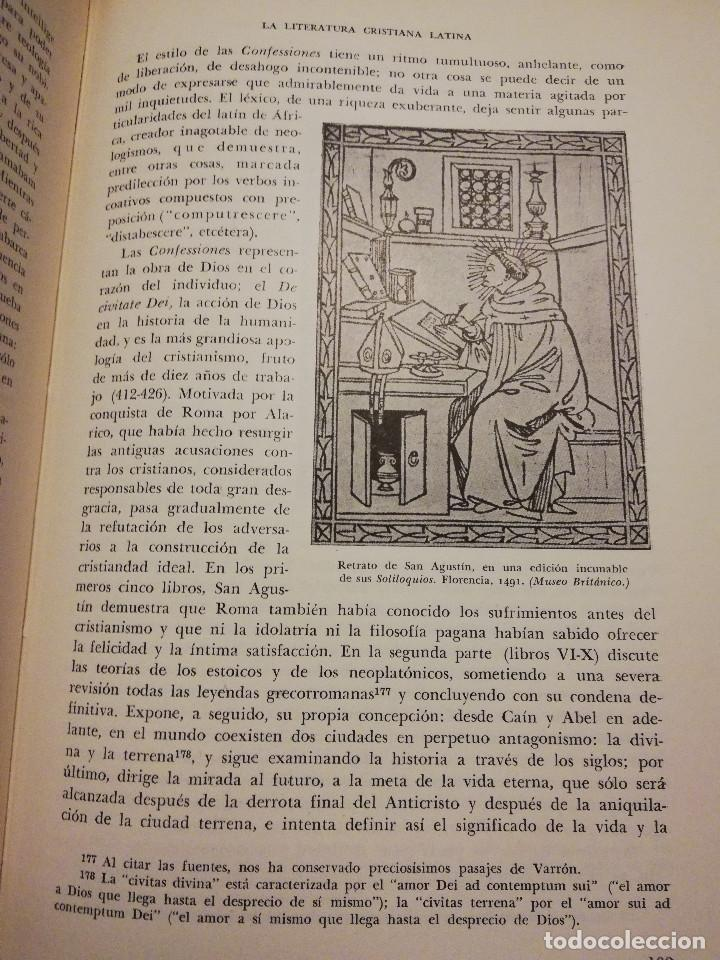 Libros de segunda mano: HISTORIA UNIVERSAL LITERATURA. TOMO III (PRAMPOLINI) LITERATURAS CRISTIANAS OCCIDENTALES, ... - Foto 11 - 217616867