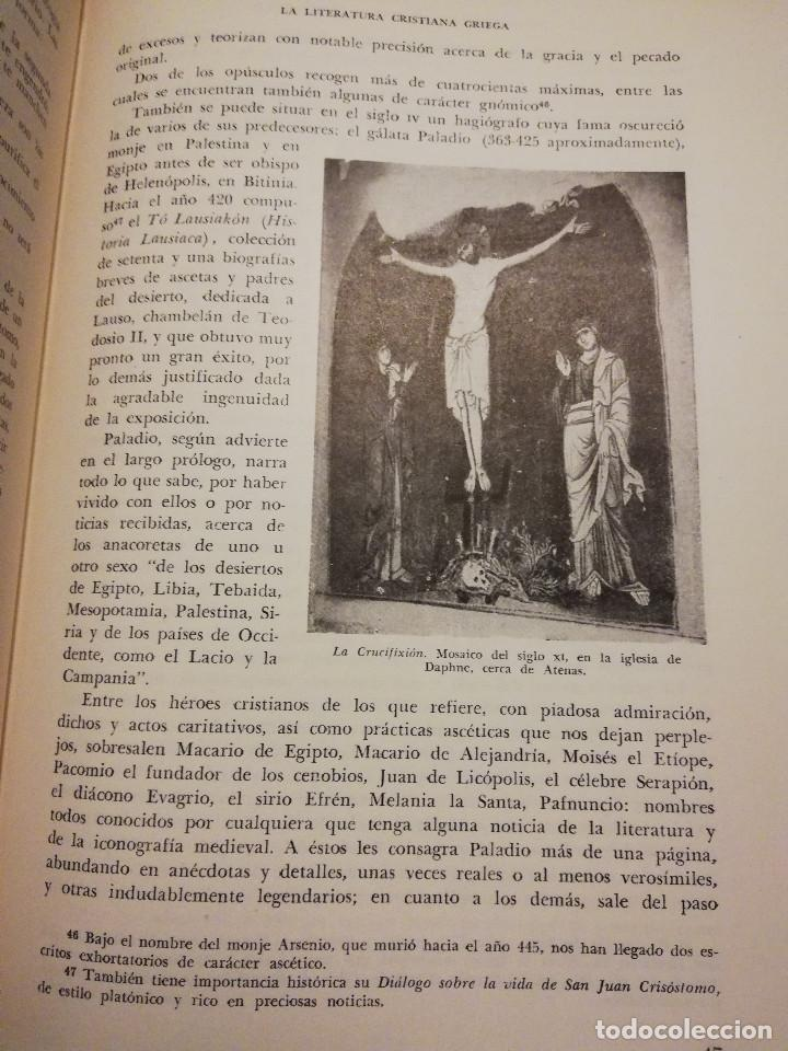 Libros de segunda mano: HISTORIA UNIVERSAL LITERATURA. TOMO III (PRAMPOLINI) LITERATURAS CRISTIANAS OCCIDENTALES, ... - Foto 13 - 217616867