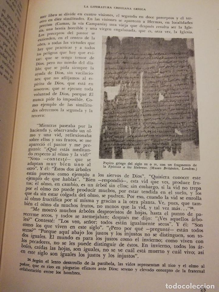Libros de segunda mano: HISTORIA UNIVERSAL LITERATURA. TOMO III (PRAMPOLINI) LITERATURAS CRISTIANAS OCCIDENTALES, ... - Foto 14 - 217616867