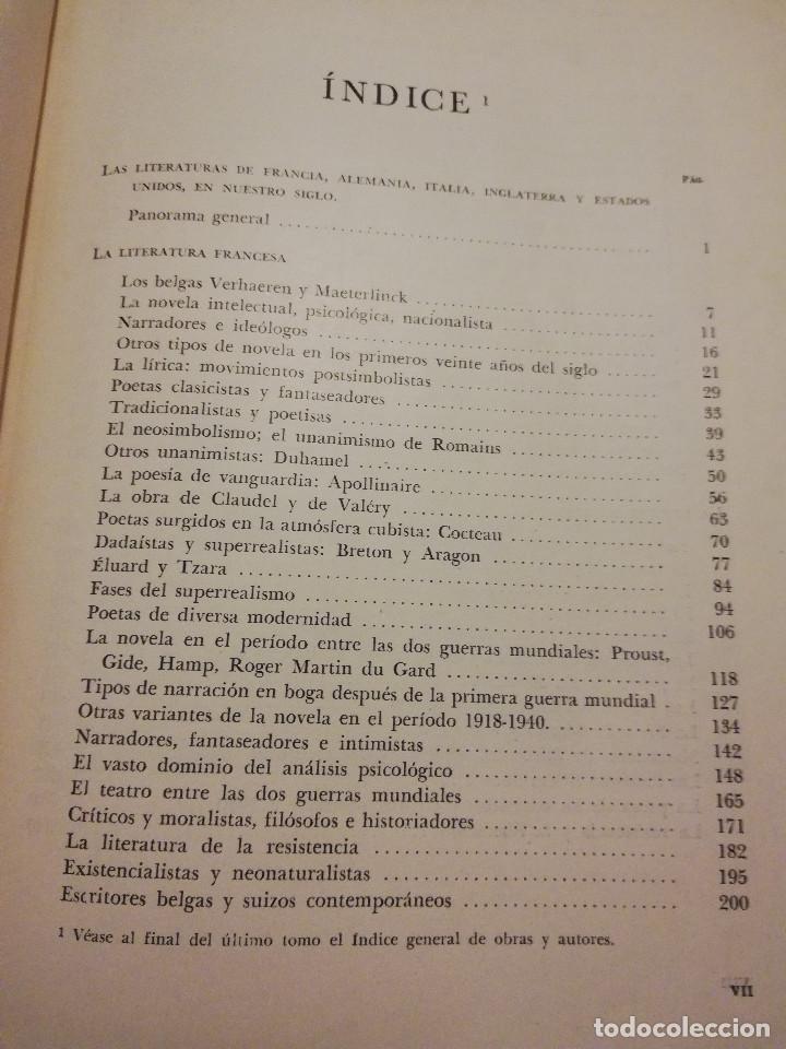 Libros de segunda mano: HISTORIA UNIVERSAL LITERATURA. TOMO X (PRAMPOLINI) FRANCIA, ALEMANIA E ITALIA EN NUESTRO SIGLO - Foto 3 - 217617045