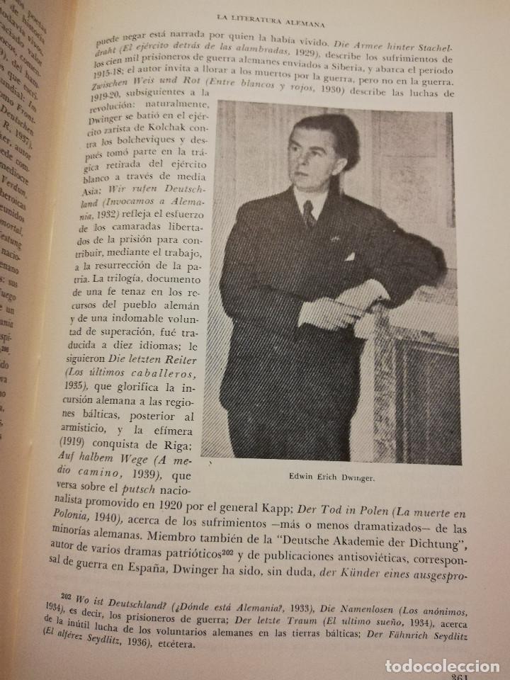Libros de segunda mano: HISTORIA UNIVERSAL LITERATURA. TOMO X (PRAMPOLINI) FRANCIA, ALEMANIA E ITALIA EN NUESTRO SIGLO - Foto 7 - 217617045