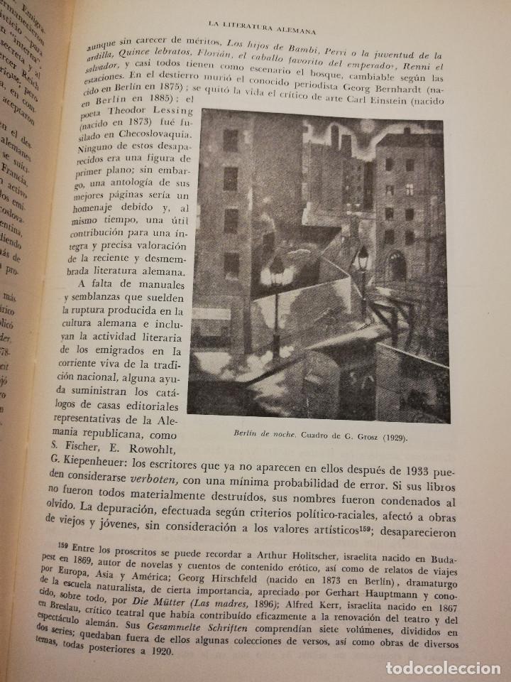Libros de segunda mano: HISTORIA UNIVERSAL LITERATURA. TOMO X (PRAMPOLINI) FRANCIA, ALEMANIA E ITALIA EN NUESTRO SIGLO - Foto 8 - 217617045