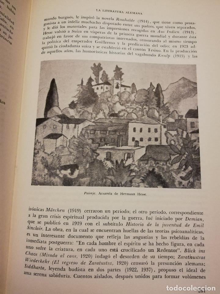 Libros de segunda mano: HISTORIA UNIVERSAL LITERATURA. TOMO X (PRAMPOLINI) FRANCIA, ALEMANIA E ITALIA EN NUESTRO SIGLO - Foto 9 - 217617045