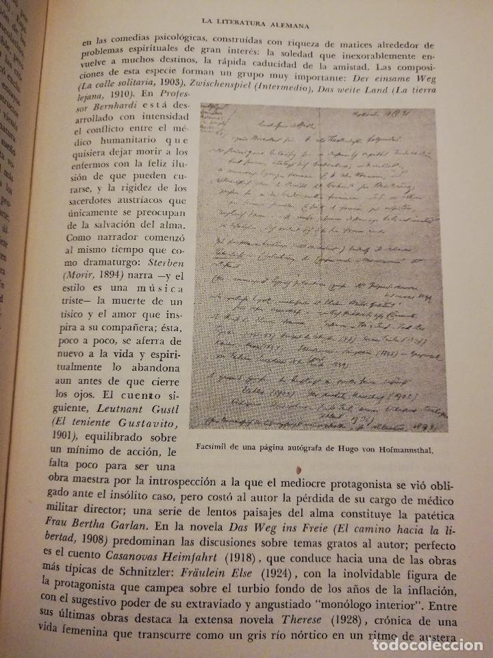 Libros de segunda mano: HISTORIA UNIVERSAL LITERATURA. TOMO X (PRAMPOLINI) FRANCIA, ALEMANIA E ITALIA EN NUESTRO SIGLO - Foto 10 - 217617045