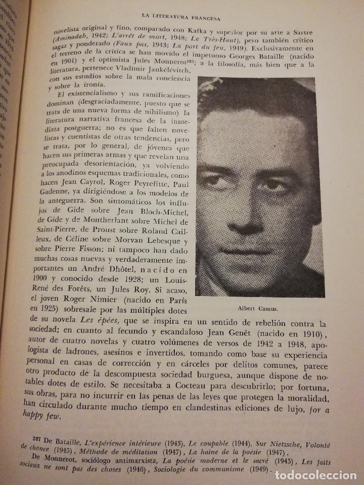 Libros de segunda mano: HISTORIA UNIVERSAL LITERATURA. TOMO X (PRAMPOLINI) FRANCIA, ALEMANIA E ITALIA EN NUESTRO SIGLO - Foto 11 - 217617045