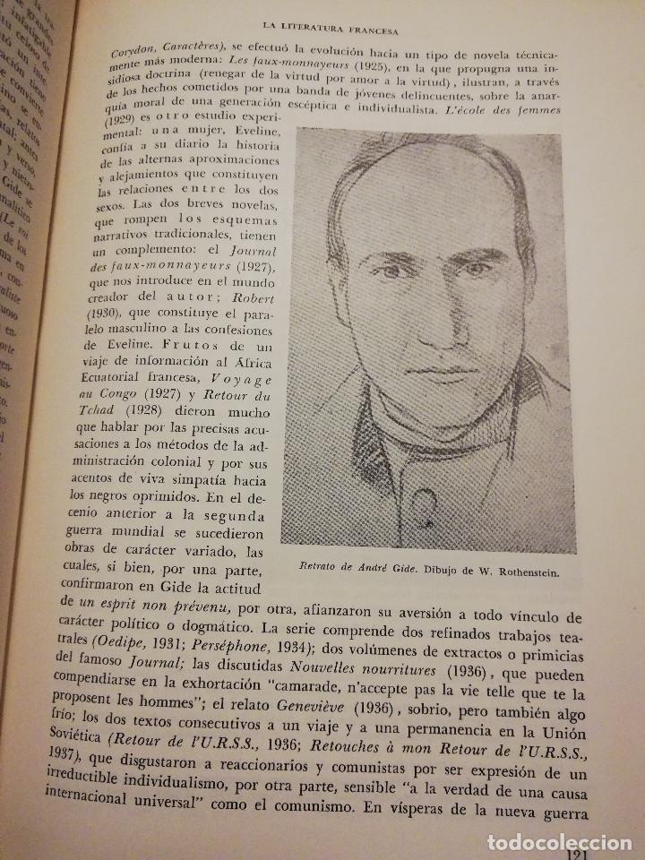 Libros de segunda mano: HISTORIA UNIVERSAL LITERATURA. TOMO X (PRAMPOLINI) FRANCIA, ALEMANIA E ITALIA EN NUESTRO SIGLO - Foto 12 - 217617045