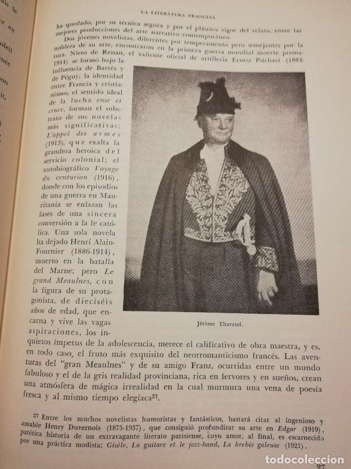 Libros de segunda mano: HISTORIA UNIVERSAL LITERATURA. TOMO X (PRAMPOLINI) FRANCIA, ALEMANIA E ITALIA EN NUESTRO SIGLO - Foto 15 - 217617045
