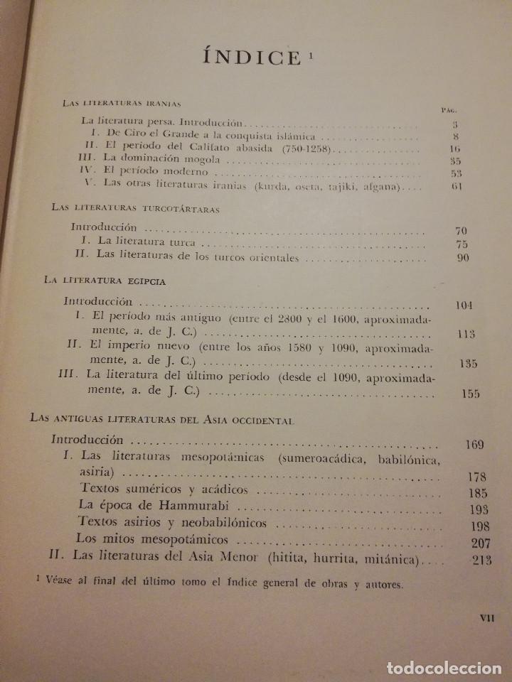 Libros de segunda mano: HISTORIA UNIVERSAL LITERATURA. TOMO II (PRAMPOLINI) LITERATURAS IRANIAS, TURCOTÁRTARAS, EGIPCIA, ... - Foto 3 - 217617532