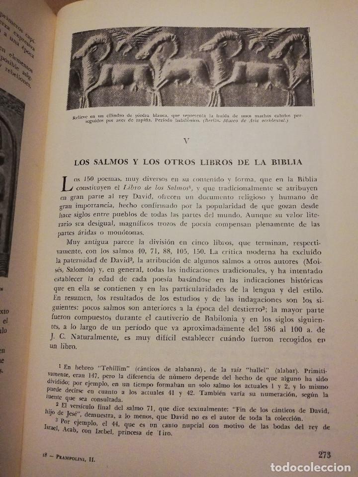 Libros de segunda mano: HISTORIA UNIVERSAL LITERATURA. TOMO II (PRAMPOLINI) LITERATURAS IRANIAS, TURCOTÁRTARAS, EGIPCIA, ... - Foto 7 - 217617532