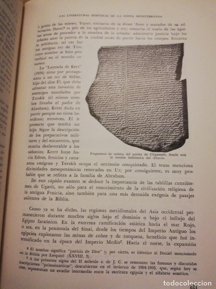 Libros de segunda mano: HISTORIA UNIVERSAL LITERATURA. TOMO II (PRAMPOLINI) LITERATURAS IRANIAS, TURCOTÁRTARAS, EGIPCIA, ... - Foto 8 - 217617532