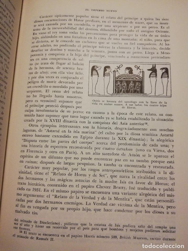 Libros de segunda mano: HISTORIA UNIVERSAL LITERATURA. TOMO II (PRAMPOLINI) LITERATURAS IRANIAS, TURCOTÁRTARAS, EGIPCIA, ... - Foto 10 - 217617532