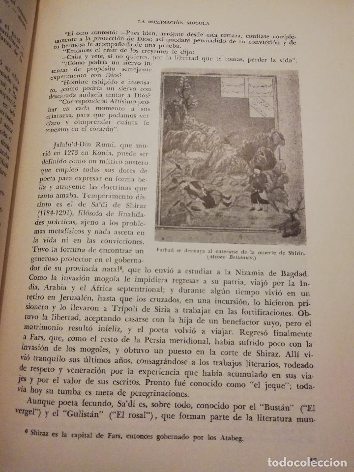 Libros de segunda mano: HISTORIA UNIVERSAL LITERATURA. TOMO II (PRAMPOLINI) LITERATURAS IRANIAS, TURCOTÁRTARAS, EGIPCIA, ... - Foto 13 - 217617532