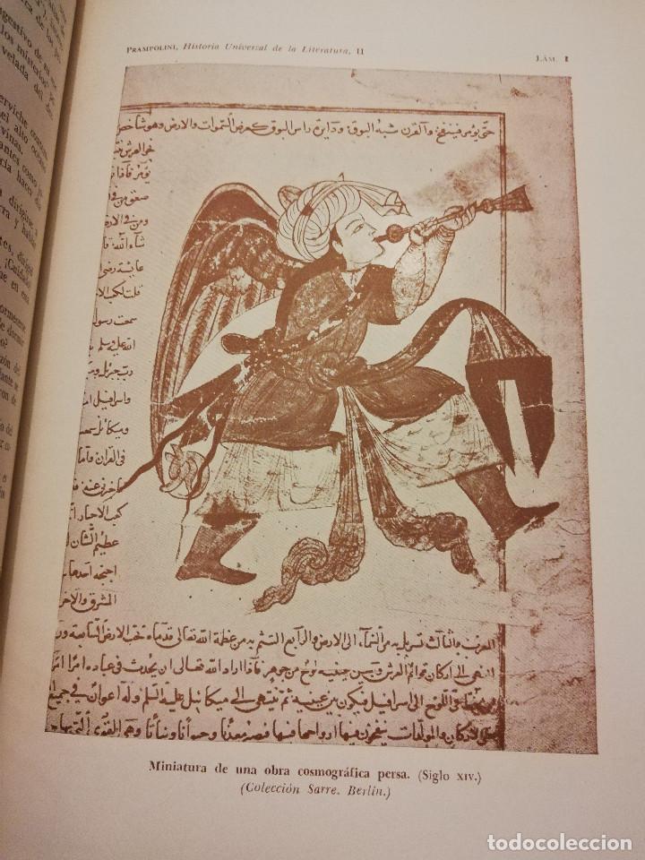 Libros de segunda mano: HISTORIA UNIVERSAL LITERATURA. TOMO II (PRAMPOLINI) LITERATURAS IRANIAS, TURCOTÁRTARAS, EGIPCIA, ... - Foto 14 - 217617532