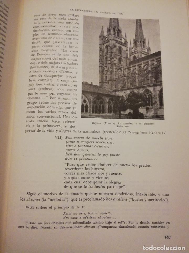 Libros de segunda mano: HISTORIA UNIVERSAL LITERATURA. TOMO IV (PRAMPOLINI) LITERATURAS CÉLTICAS, GERMÁNICAS, ROMÁNICAS... - Foto 6 - 217617678