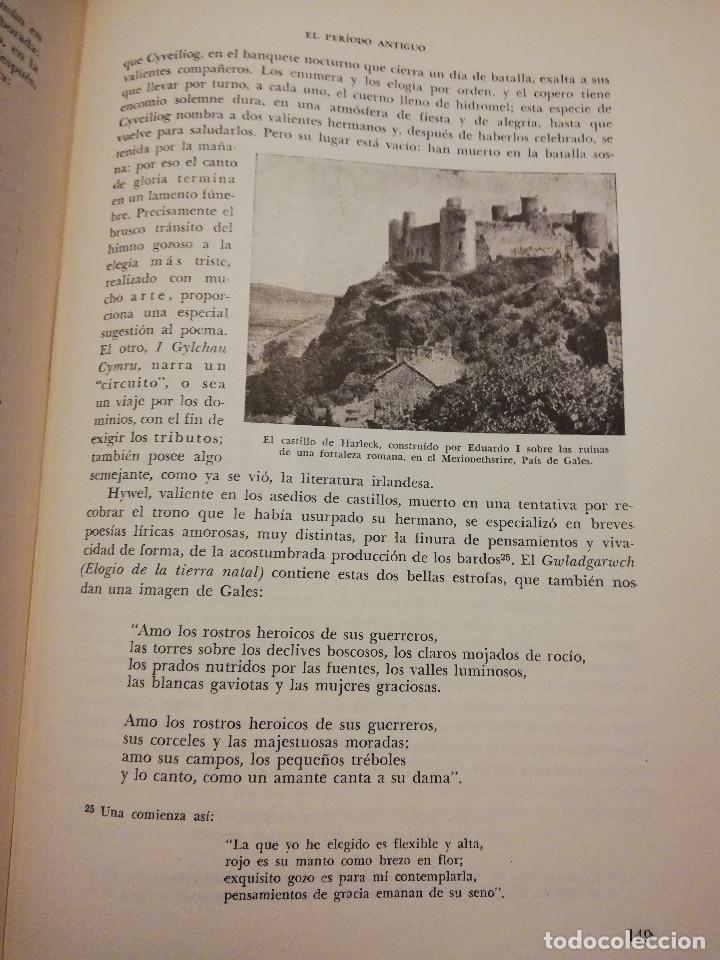 Libros de segunda mano: HISTORIA UNIVERSAL LITERATURA. TOMO IV (PRAMPOLINI) LITERATURAS CÉLTICAS, GERMÁNICAS, ROMÁNICAS... - Foto 8 - 217617678